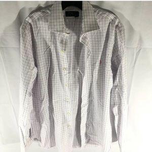 Ralph Lauren polo dress shirt size 15 1/2, 34/35